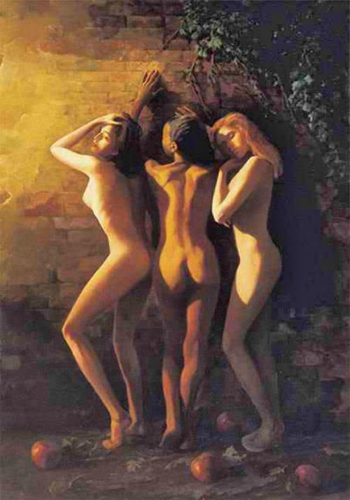 Обнажённая натура в мировой живописи 20 века (145 работ)