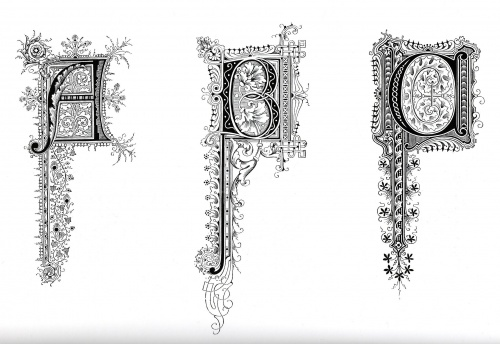 Ornamental Typography (31 работ)