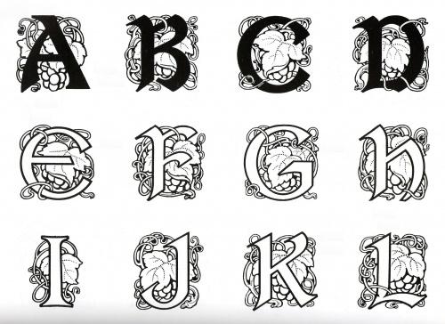 Ornamental Typography (31 работ)
