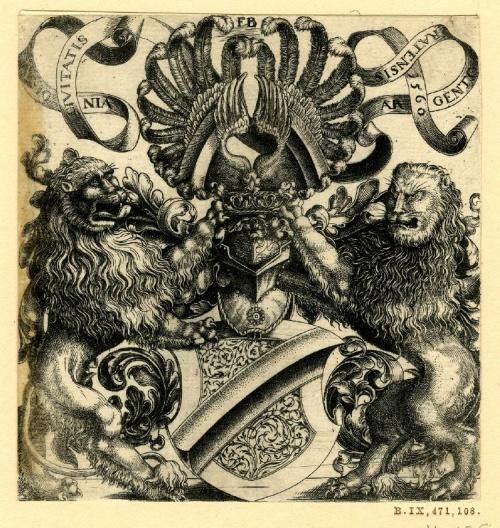 Дворянские гербы из Британской библиотеки (52 работ)