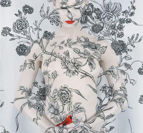 Креативный бодиарт (фото девушек) (44 фото) (эротика)