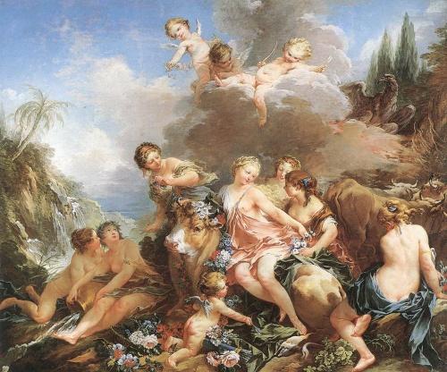 Обнажённая натура в мировой живописи 18 века (111 работ)