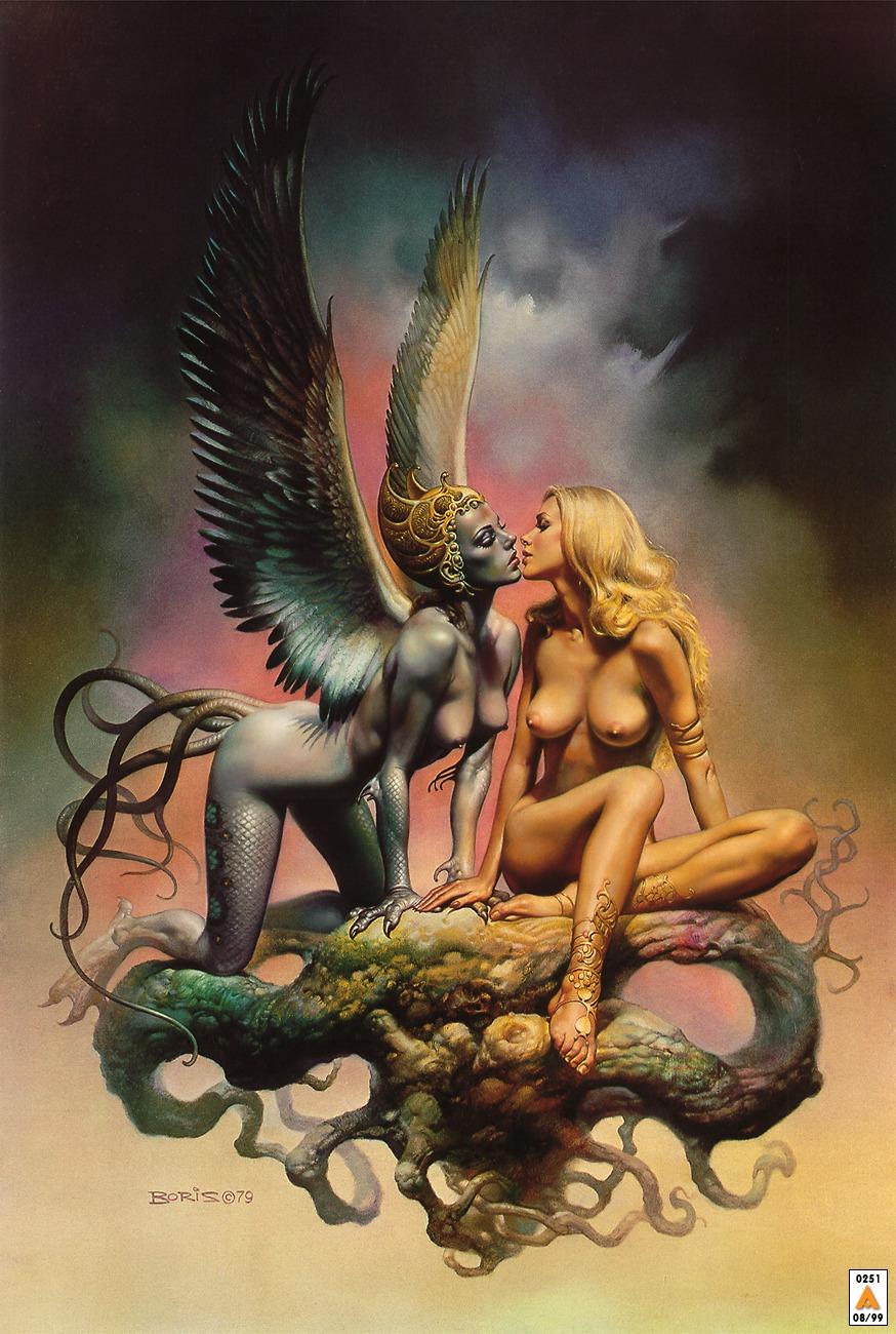 Erotic fantasy art boris porn clip