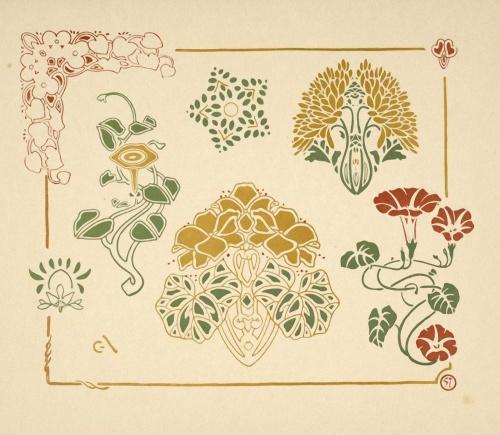 Combinaisons ornementales (1900) (64 работ)