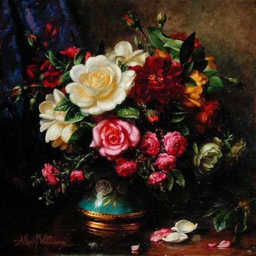 Натюрморты от Albert Williams (214 работ)
