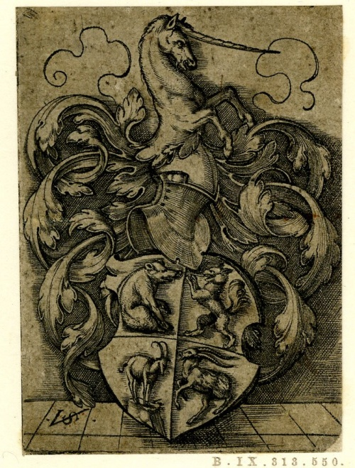 Старинные гербы (51 работ)