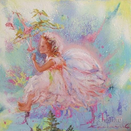 Ангелы Елены Капустиной  (38 работ)