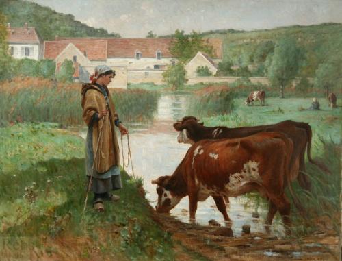 Самые популярные картины известных художников (21 работ)