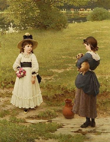 George Dunlop Leslie (1835-1921) (26 работ)