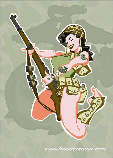 History Pin-Up. Andrew Bawidamann (28 работ) (эротика)