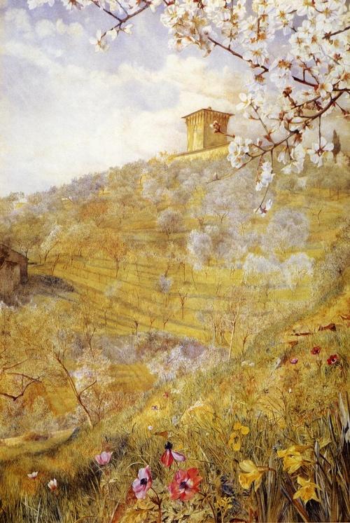 Henry Roderick Newman (1833-1918), американский художник (50 работ)