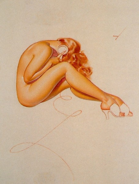 History Pin-Up. George Petty (1894 - 1975) (38 работ)