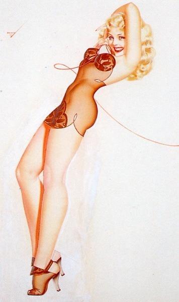 History Pin-Up. George Petty (1894 - 1975) (38 работ)