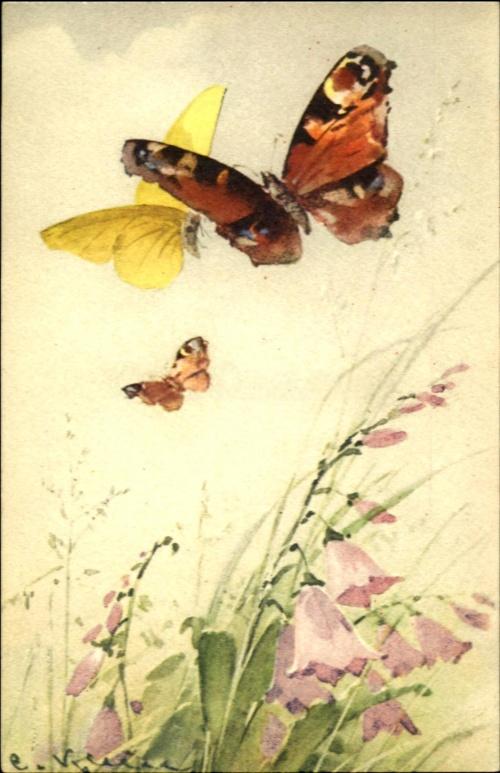 Открытки Catherine Klein (1861-1929) (141 работ)