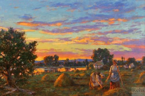 Коллекция картин разных художников часть1 (16 работ)