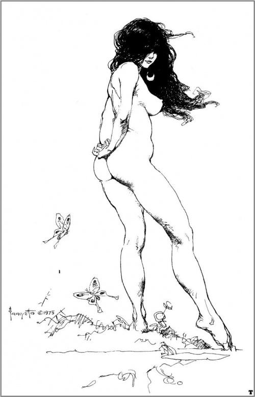 Искусство Фрэнка Фразетты (346 работ)