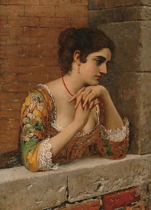 Eugene De Blaas (1843 - 1931) (77 работ)