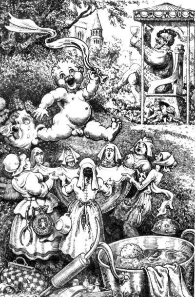 Иллюстратор Frank Cheyne Pape (130 работ)