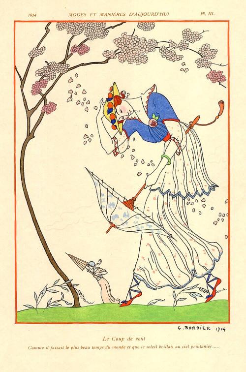 Жорж Барбье (George Barbier) (1882–1932) (150 работ)