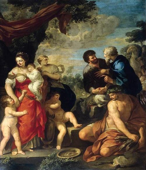 Итальянские художники, скульпторы и архитекторы. Рим (13-19 век). ч.7 (48 работ)