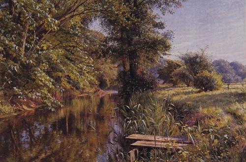 Peder Mork Monsted (1859-1941) (57 работ)