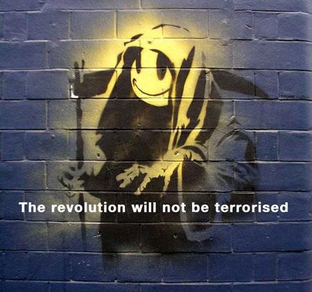 Величайший граффитист современности - английский художник Бэнкси (88 работ)