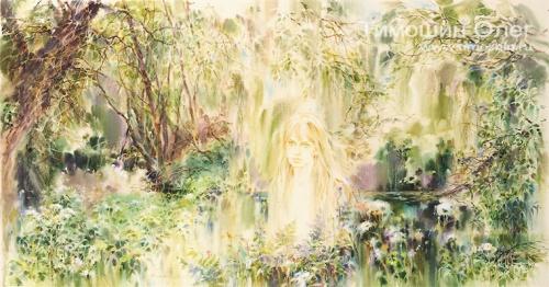 Цветущие работы от Олега Тимошина (50 работ)