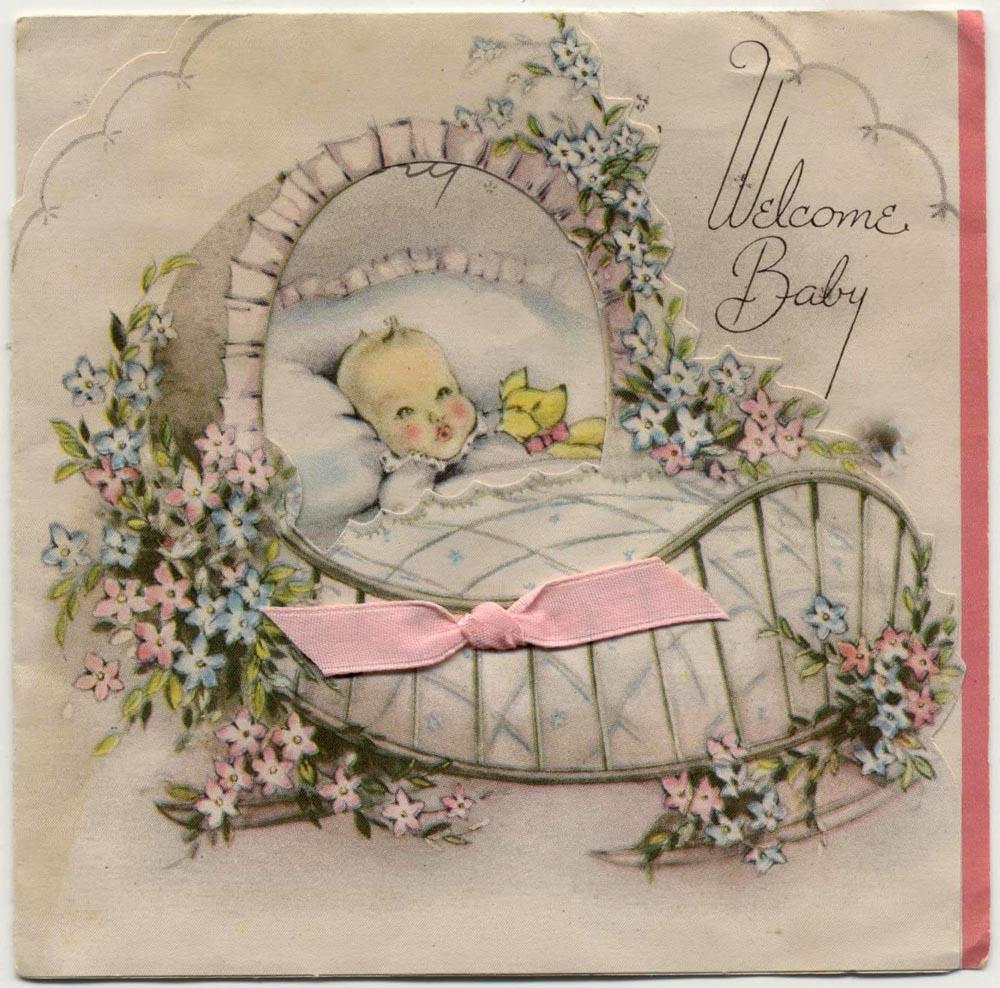 фото винтажные открытки с рождением дочери сопровождалось фото-сессией