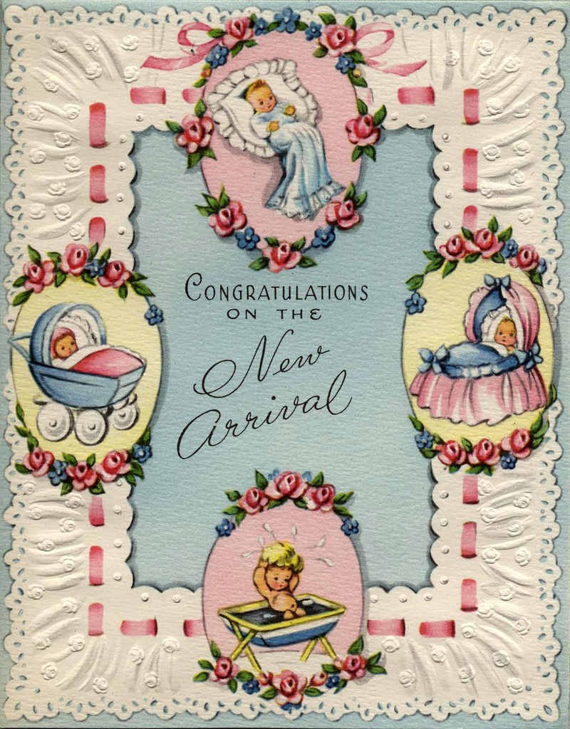 "Винтажные открытки ""С новорожденным ...: nevsepic.com.ua/deti/page,4,12430-vintazhnye-otkrytki-s..."