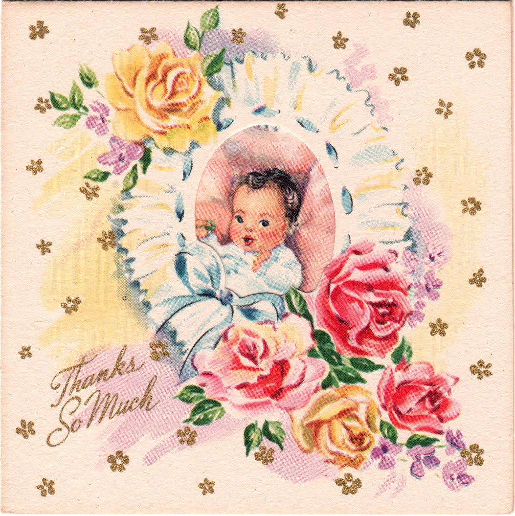 запросто винтажные открытки с рождением дочери про