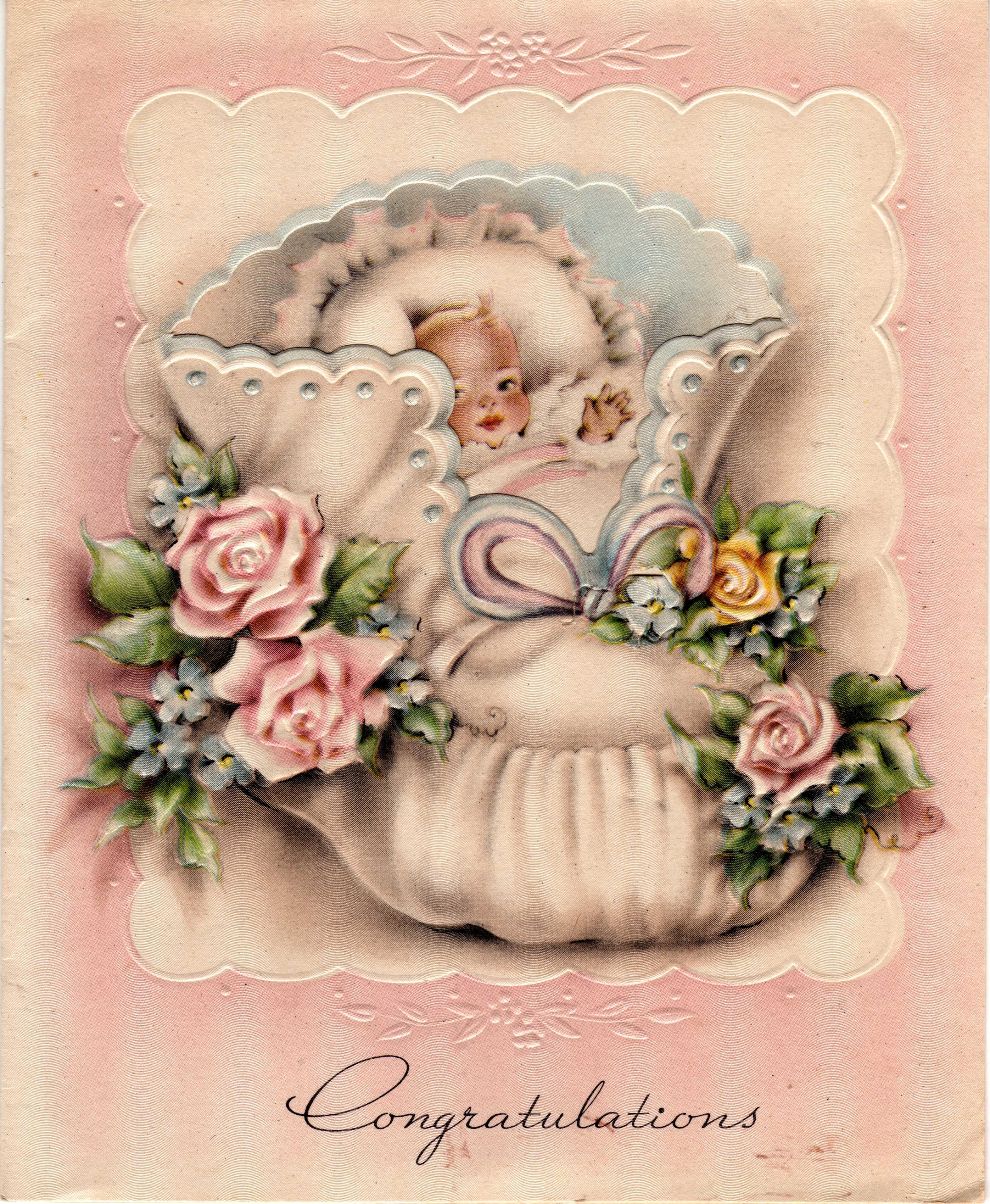 Поздравления с днём рождения новорожденной