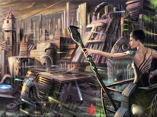 """Картинки на тему """"Фантастический мир"""" (715 работ) (2 часть)"""