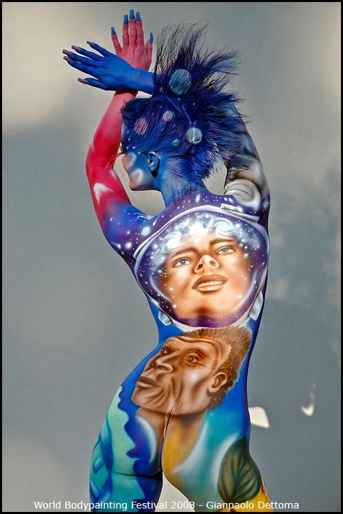 Фотографии с чемпионата мира по бодиарту (22 фото)