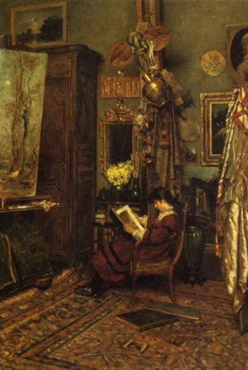 William John Hennessy (1839-1917) (19 работ)