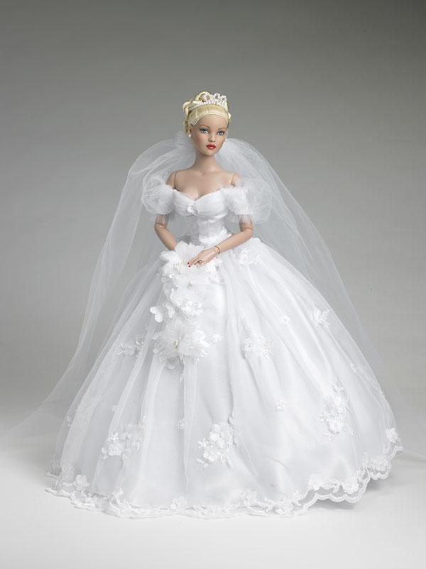 Как сделать свадебное платье для куклы видео