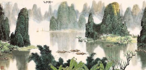 Горный пейзаж (53 работ)
