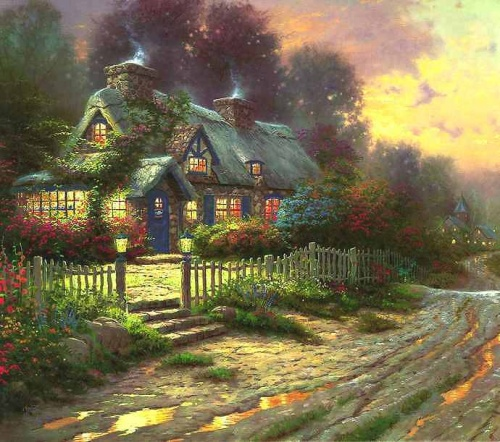 Картины Томаса Кинкаде (158 работ)