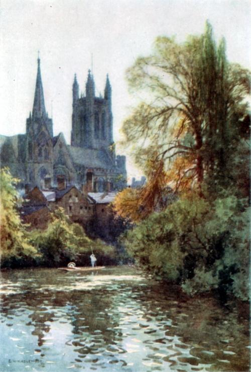Акварели из старых английских книг (216 работ)
