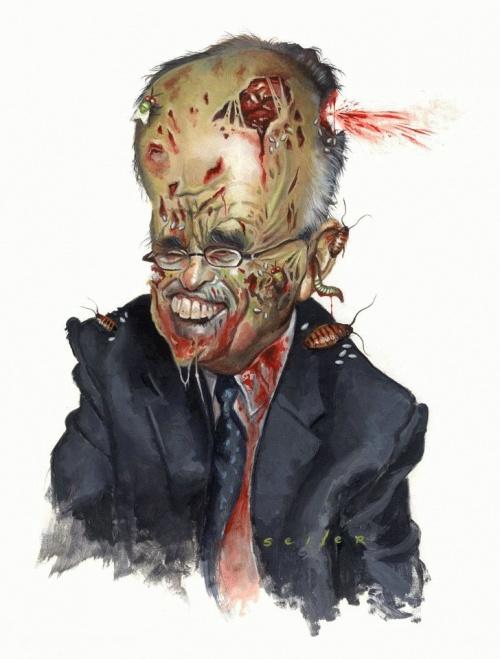 Карикатуры на политиков (44 работ)