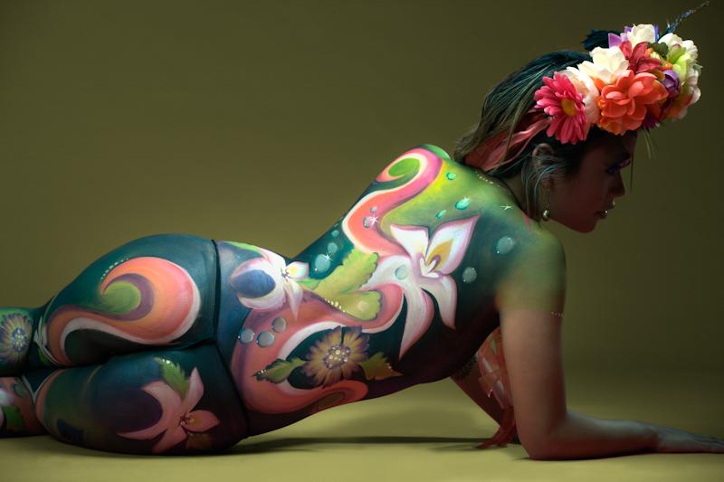 Fetish Body Paint Miscellan Curvy Erotic 1