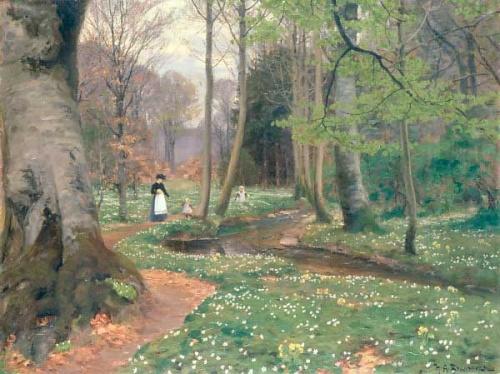 Hans Andersen Brendekilde (1857-1942) (45 работ)