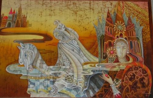 Любовь Тощева - Батик (85 работ)