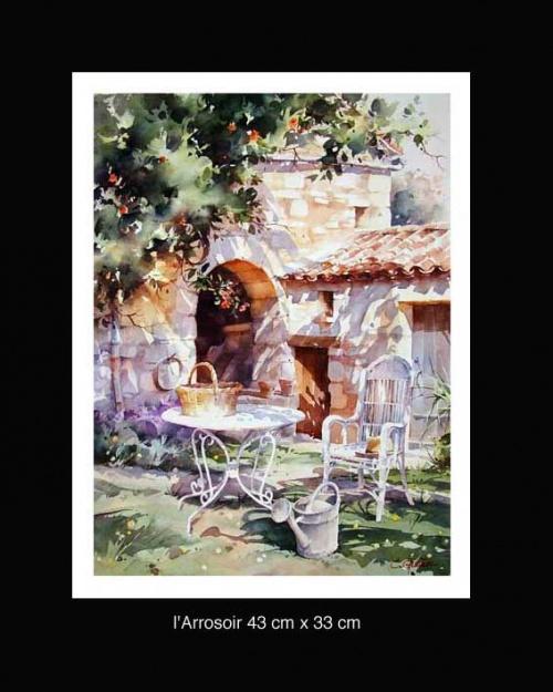 Художник - акварелист Кристиан Гранью (Christian Graniou) (31 работ)
