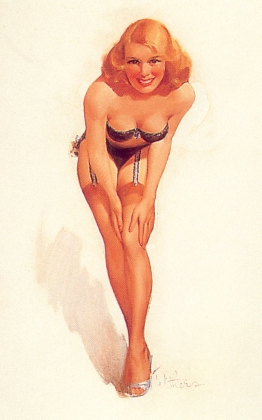 History Pin-Up. Ted Withers (62 работ)