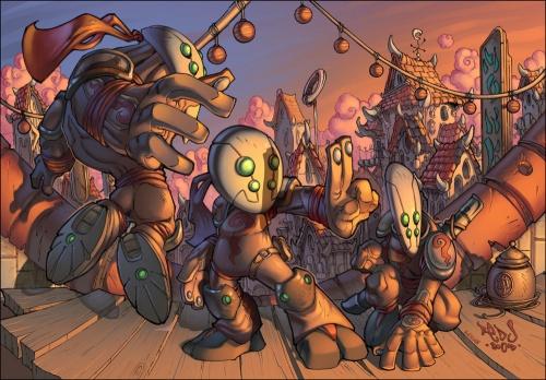 Comics Art of Jon Sommariva (87 работ)