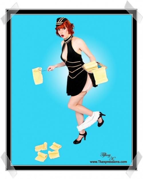 Tiffany Krzywicki - фото в стиле Pin-up (98 фото) (эротика)