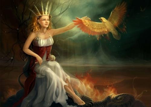 Рисунки Натальи Мотуз . Сказочный мир (27 работ)