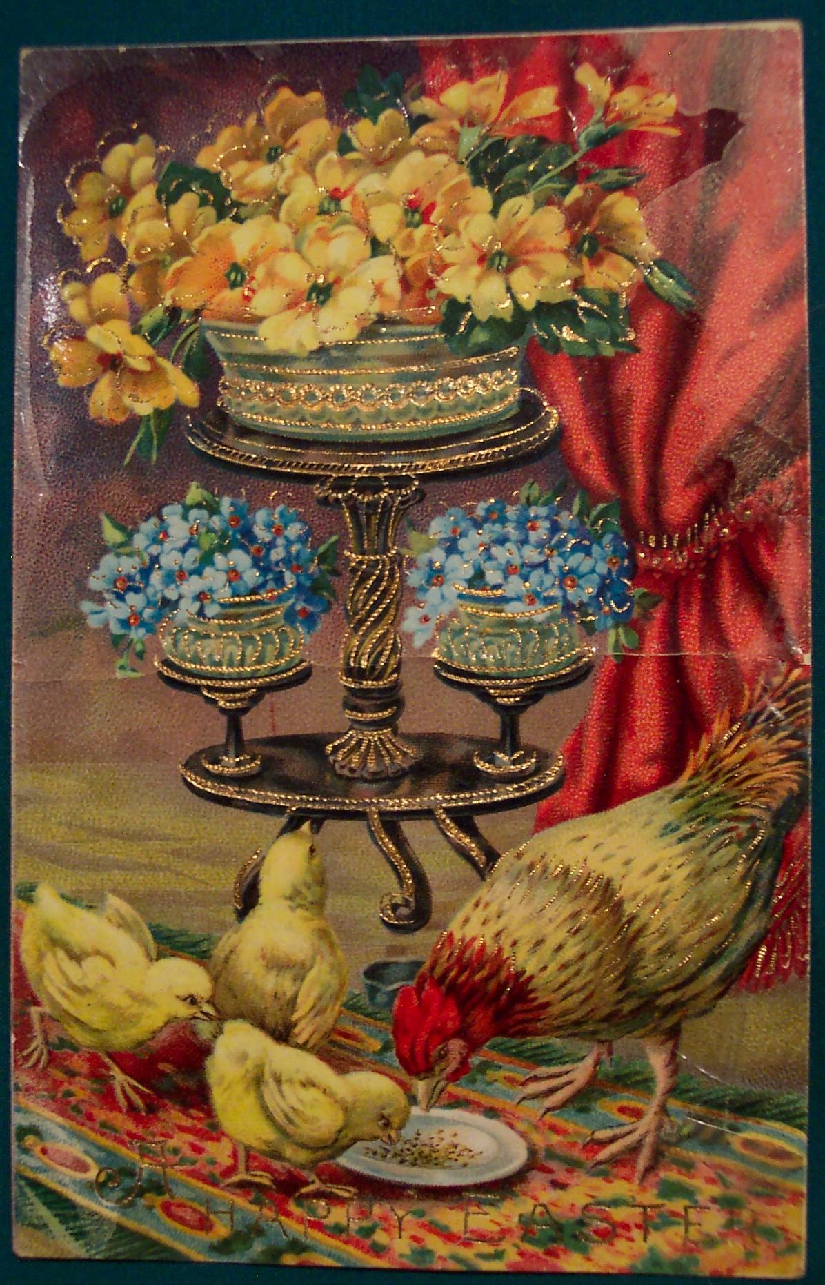 Винтажные открытки (валентинки) и клипарты ко Дню