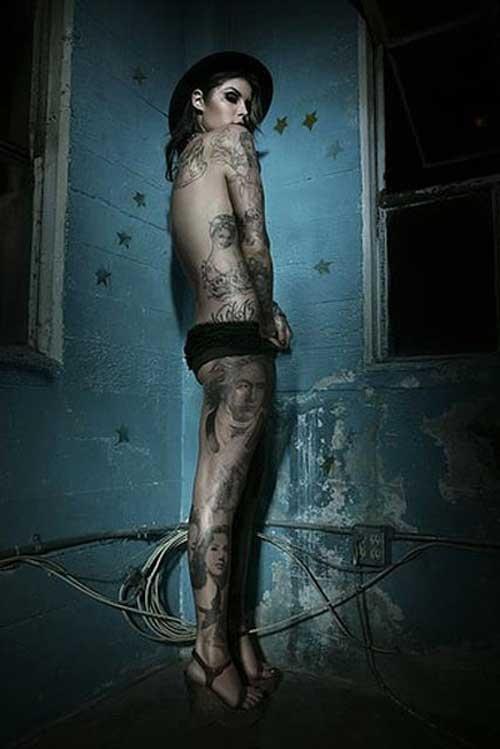 Tattoo (126 фото) (эротика)