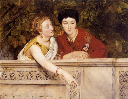 Paintings by Lawrence Alma-Tadema (210 работ)